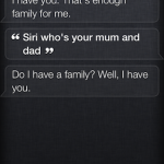 Siri Funny Family
