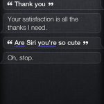Siri Funny Flirting