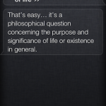Siri Funny Meaning of Life 1