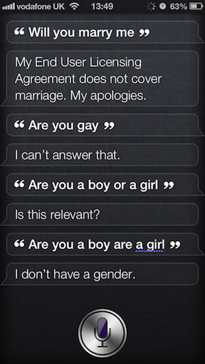 Siri Funny Marriage