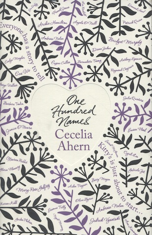 One Hundred Names by Cecelia Ahern Book Cover