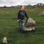 Antony Simpson at The Druid Circle Cumbria
