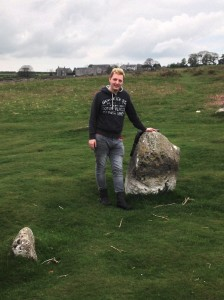 Me at The Druid Circle Cumbria