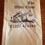 The White Crow Napkin
