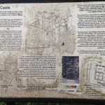 Millom Castle Cumbria Holy Trinity Church Information Board