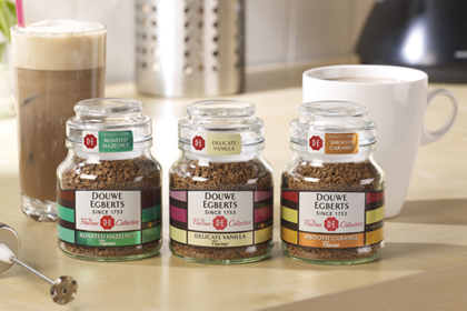 Posh Coffee The Flavour Collection From Douwe Egberts Antony Simpson S Blog