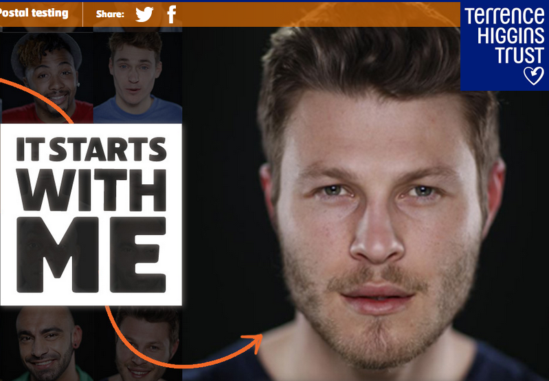 'It Starts With Me' HIV Campaign Image