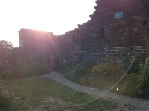 Rivington Castle Inside - Ruins in a Good State