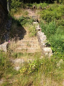 Rivington Ruins - Nature's Growing Over The Stairs To The No-Longer Existent 2nd Floor