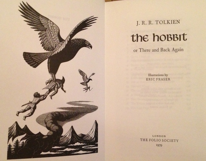 The Hobbit Inside - The Folio Society