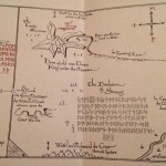 The Hobbit Inside Map 1 - The Folio Society