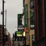 Wicked Outside Manchester Palace Theatre