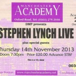 Stephen Lynch Ticket