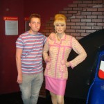 Madame Tussaunds Blackpool sweetie darling cig