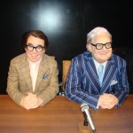 Madame Tussaunds Blackpool the two ronnies