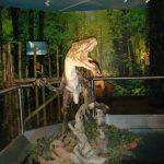 Madame Tussaunds Blackpool random dinosaur