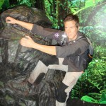 Madame Tussaunds Blackpool Bear Grylls