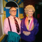 Madame Tussaunds Blackpool Jack and Vera Duckworth