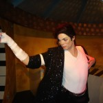 Madame Tussaunds Blackpool Michael Jackson