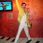 Madame Tussaunds Blackpool Freddie Mercury