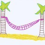 My Drawing - Hammock