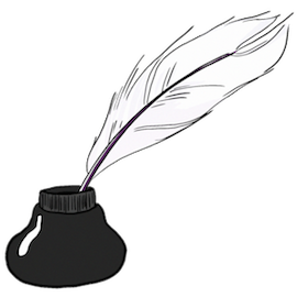 writing-quill-ink-well-large