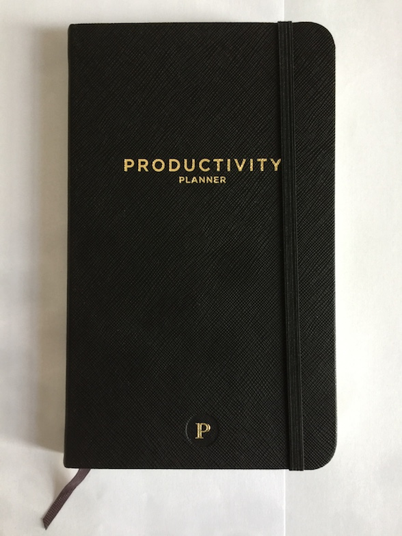 Productivity Journal Review The Productivity Planner By - Productivity planner review