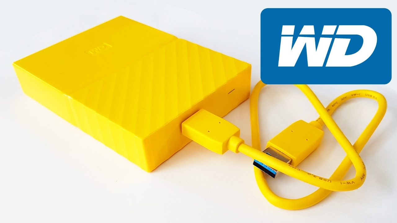 Tech Review: WD My Passport (Yellow) 4TB Portable Hard Drive